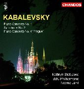 Album artwork for KABALEVSKY - PIANO CONCERTOS VOL. 2