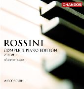 Album artwork for ROSSINI - COMPLETE PIANO EDITION, VOLUME 3