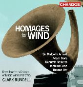Album artwork for HOMMAGES FOR WIND