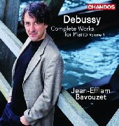 Album artwork for Debussy: Complete Works for Piano Vol 1 / Bavouzet