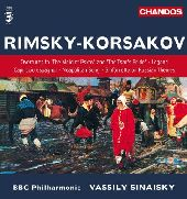 Album artwork for Rimsky-Korsakov: Overtures, etc / Sinaisky