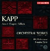 Album artwork for KAPP FAMILY: ORCHESTRAL WORKS