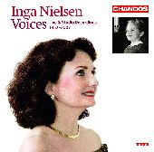Album artwork for Inga Nielsen: Voices, Live and studio recordings 1