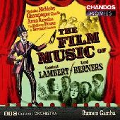 Album artwork for Lambert, Lord Berners: The Film Music of