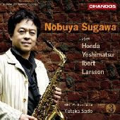 Album artwork for Nobuya Sugawa: Plays Honda, Yoshimatsu, Ibert, Lar