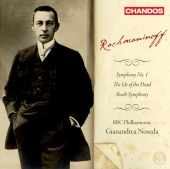 Album artwork for Rachmaninoff: Symphony No.1, etc / Noseda