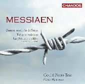 Album artwork for Messiaen: Quatuor pour la fin du Temps, Theme et v