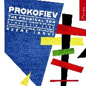 Album artwork for Prokofiev: The Prodigal Son, Divertimento (Jarvi)