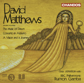 Album artwork for Matthews: The Music of Dawn, Concerto in Azzurro