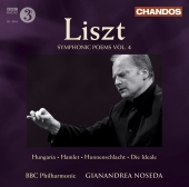 Album artwork for Liszt: Symphonic Poems Vol. 4 (Noseda)