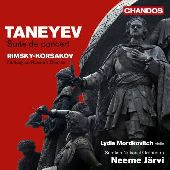 Album artwork for Taneyev: Suite de Concert