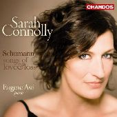 Album artwork for Schumann: Songs of Love & Loss (Sarah Connolly)