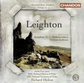 Album artwork for Leighton: Symphony No. 2 / Te Deum laudamus