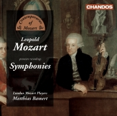 Album artwork for Leopold Mozart: Symphonies