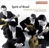Album artwork for Aquarelle Guitar Quartet: Spirit of Brazil