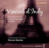 Album artwork for D'Indy: Orchestral Works Vol. 2 (Gamba)
