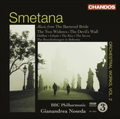 Album artwork for Smetana: Orchestral Works vol. 2 / Noseda