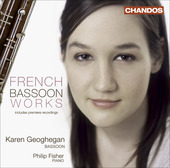 Album artwork for Karen Geoghegan: French Bassoon Works
