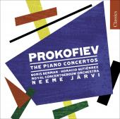 Album artwork for Prokofiev: Piano Concertos no. 1 - 5