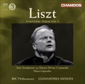 Album artwork for Liszt: Symphonic Poems Vol 5 (Noseda)