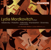 Album artwork for Lydia Mordkovitch: Russian Works for Violin / Viol
