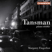 Album artwork for Tansman: Piano Works (Fingerhut)