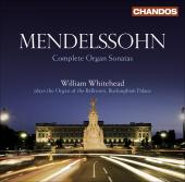 Album artwork for Mendelssohn: Complete Organ Sonatas (Whitehead)