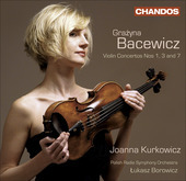 Album artwork for Bacewicz: Violin Concertos Nos 1, 3 & 7 (Kurkowicz