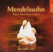 Album artwork for Mendelssohn: Piano Trios Nos. 1 & 2 (Borodin)