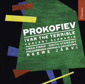 Album artwork for Prokofiev: Ivan the Terrible, Concert Scenario