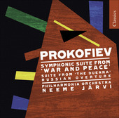 Album artwork for Prokofiev: Suites from War and Peace and Duenna