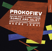 Album artwork for Prokofiev: Romeo and Juliet, Suites 1-3 (Jarvi)