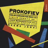 Album artwork for Prokofiev: Violin Concertos 1 & 2 (Mordkovitch)