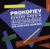 Album artwork for Prokofiev: Eugene Onegin, Incidental Music