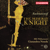 Album artwork for Rachmaninoff: The Miserly Knight (Noseda)