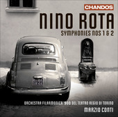 Album artwork for Rota: Symphonies Nos. 1 & 2