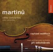 Album artwork for Martinu: Cello Concertos Nos 1 & 2 (Wallfisch)