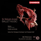 Album artwork for Arnold: Ballet Music