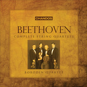 Album artwork for Beethoven: Complete String Quartets / Borodin