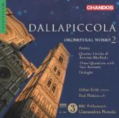 Album artwork for Dallapiccola: Orchestral Works, Vol. 2 / Noseda