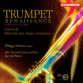 Album artwork for Trumpet Renaissance (Schartz)