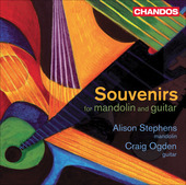 Album artwork for Souvenirs for Mandolin and Guitar