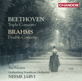 Album artwork for Beethoven: Triple Concerto / Brahms: Double Concer