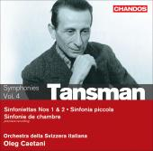 Album artwork for Tansman: Symphonies, Vol.4 (Caetani)