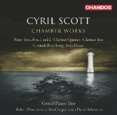 Album artwork for Cyril Scott: Chamber Works