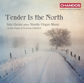 Album artwork for Ian Quinn: Tender is the North- Nordic Organ Music