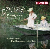 Album artwork for Fauré: Piano Quartets, Nocturne No.4 / Stott