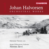 Album artwork for Halvorsen: Orchestral Works, Vol.1