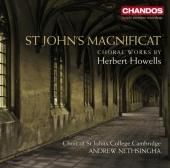 Album artwork for Howells: St John's Magnificat / Nethsingha