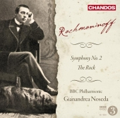 Album artwork for Rachmaninoff: Symphony No 2, The Rock / Noseda